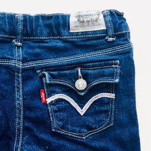 Levis Gem Button Flared Jeans